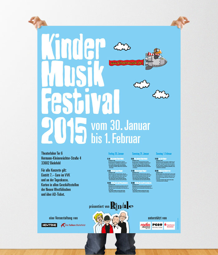 Kindermusikfestival: Plakat