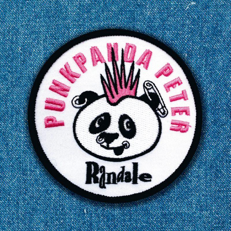 randale aufnäher punkpanda peter